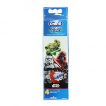Oral B 4 Recambios Star Wars Cepillo Electrico Stages Power