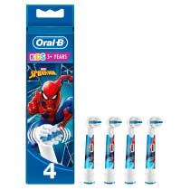 Oral-B Recambios Cepillo Electrico Stages Power Kids Spiderman 4uds