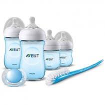 Set Recien Nacido Natural Philips Avent Color Azul