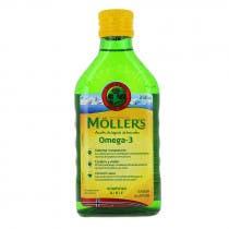Aceite de Higado de Bacalao Sabor Limon Moller's 250ml