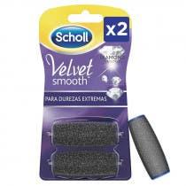 Dr Scholl Velvet Smooth Diamond Crystals 2 Limas de Recambio Durezas Extremas