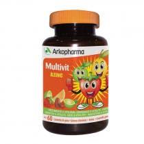 Multivit Crecimiento y Vitalidad Arkopharma 60 Caramelos