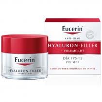Hyaluron Filler Volume Lift Piel Seca Crema de Dia Eucerin 50 ml