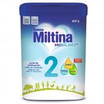 Leche de Continuación Miltina 2 Probalance 750gr