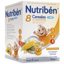 Nutriben 8 Cereales, Miel y Calcio 600g