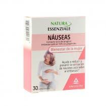 Natura Náuseas 30 Comprimidos