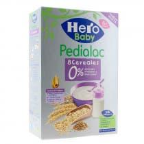 Papilla de 8 Cereales Pedialac Hero Baby 340Gr
