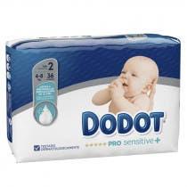 Panales Dodot Pro Sensitive Talla 2 4 8Kg 36Uds