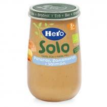 Solo Salmon  Patata y Zanahorias Hero Baby 190g