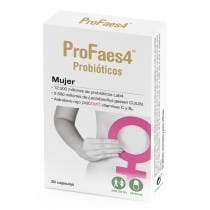 Profaes4 Mujer Cepas Bacterianas 30 Capsulas