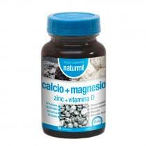 Calcio Magnesio Zinc Vitamina D Naturmil 90 Comprimidos