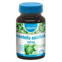 Centella Asiatica 500mg Naturmil 90 Comprimidos