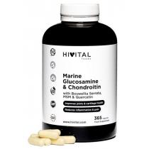 Hivital Glucosamina Marina con Condroitina 365 Capsulas