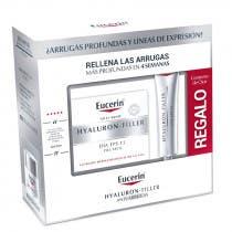 Eucerin Hyaluron Filler Piel Seca Crema de Dia FPS15 50ml Contorno de Ojos 15ml