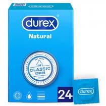 Preservativo Durex Natural Plus Easy On 24 Unidades