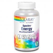 Energy Spectro Multivitaminico Solaray 120 Capsulas Vegetales