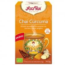 Infusion Chai Curcuma Yogi Tea 17 Bolsitas