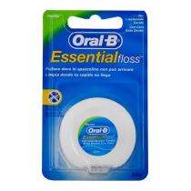 Oral-B Essential Floss Fil Dentaire Cire et Menthe 50m