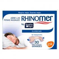 Breathe Right Tiras Nasales Grande 30 Uds