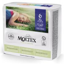 Moltex PureNature Panales Talla 6 XL 17-28Kg 35Uds