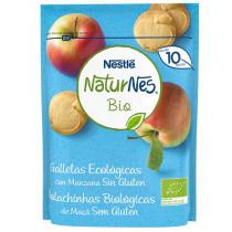 Naturnes Biscuits Bio Sans Gluten à la Pomme +8M 150GR