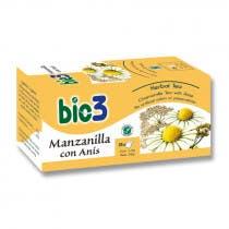 Bie3 Manzanilla con Anis 25 Bolsitas