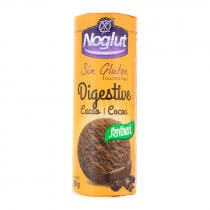 Galletas Digestive Cacao Sin gluten Santiveri Noglut 200gr