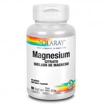Magnesio Solaray 90 Capsulas Vegetales