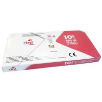 Masque Jetable 3 Couches Noir x10