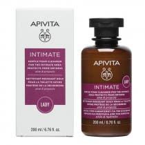 Apivita Intimate Care Lady Espuma Limpiadora Suave Zona Intima Protege de la Sequedad con Aloe y Propoleo 200ml