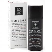 Apivita Mens Care Hombre Gel Crema Hidratante con Cedro y Propoleo 50ml