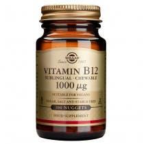 Solgar Vitamina B12 1000 mcg  Cianocobalamina  250 comp masticables