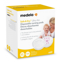 Medela Coussinets Allaitement Safe and Dry Ultra Thin x60