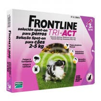 Frontline Tri Act Perros 2-5kg 3 Pipetas
