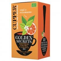 Cupper Infusion Golden Secrets BIO 20 Bolsitas