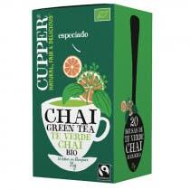 Cupper Chai Green Tea 20 Bolsitas