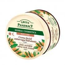 Crema Facial Antiarrugas con Argan Green Pharmacy 150ml
