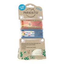 Parakito Kids Pulsera Antimosquitos 3-7 Anos 2Uds