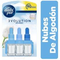 Ambi Pur 3Volution Nubes Algodon Recambio 21ml