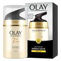 Crema Hidratante Antiedad 7 en 1 SPF30 Olay Total Effects 50ml
