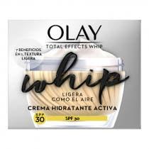 Crema Hidratante SPF30 Olay Total Effects Whip 50ml