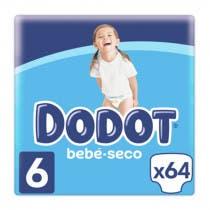Dodot Bebe Seco Panal Pack Etapas T6 66Uds