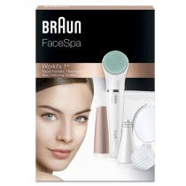Braun FaceSpa 851V Sistema de Depilacion Facial Multipack