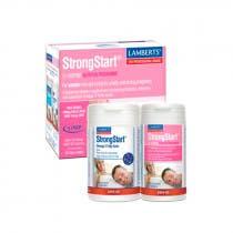 Pack Lamberts StrongStart Mujer 60 Tabletas  y Omega 3 60 Capsulas