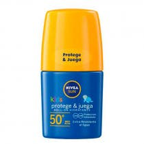 Roll On Solar Ninos SPF50  Protege y Juega Nivea Sun 50ml