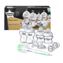 Tommee Tippee Kit Naissance Closer To Nature Blanc