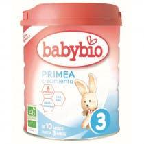 BabyBio Leche Primea 3 Bio 800 Gr