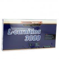 L Carnitina Sotya 3000 mg 10 Ampollas