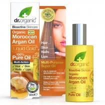 Aceite Puro de Aceite de Argan Marroqui Dr  Organic 50ml