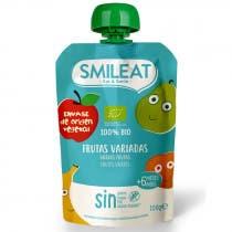 Pouch Frutas Variadas Ecologico Smileat 100g